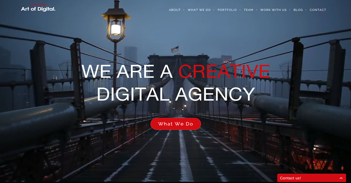 Art of digital art of digital ny for Design strategy firms nyc